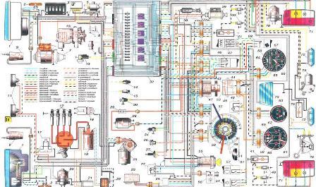 Схема Ваз 2103 Электрооборудования ...