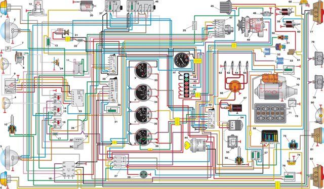 Уаз электросхема схемы руководства