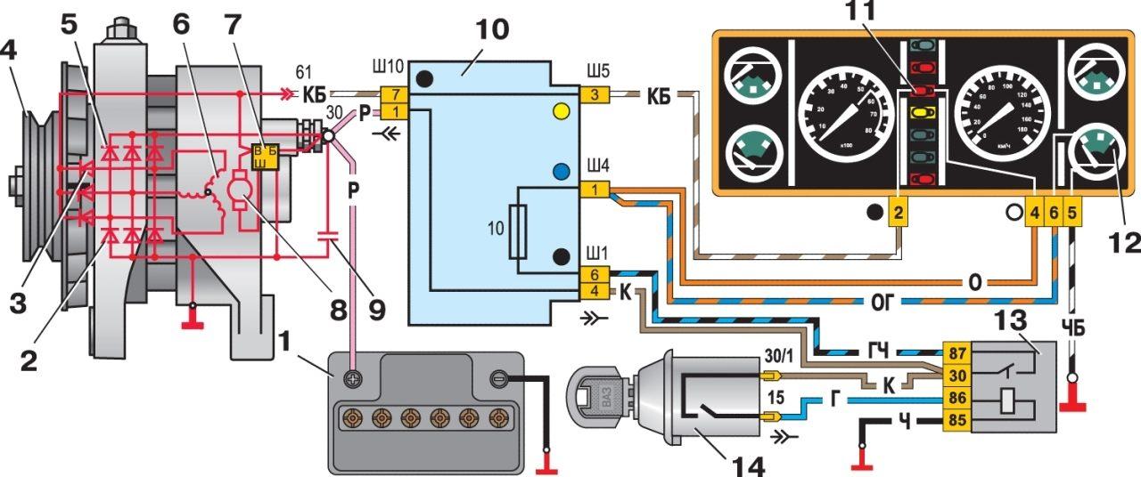 Поскажите пожалуйста по замене генератора ВАЗ 03 (40А) на ВАЗ 07i.  См пояснение.