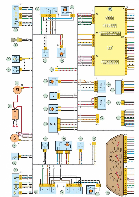 Схема подключения корректора на ниву шевроле