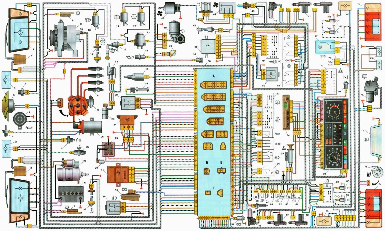 Схема электропроводки ваз 2109 карбюратор высокая панель фото 33